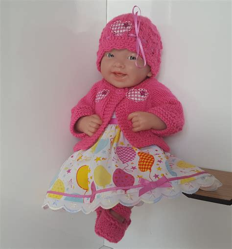 Handmade Baby Doll Clothes - handmade baby dolls clothes for 12 14 berenguer