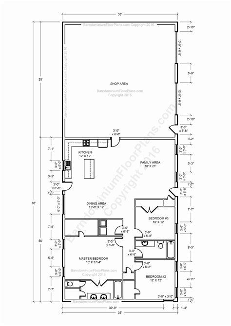 40x60 floor plans 40 x 60 barndominium floor plans