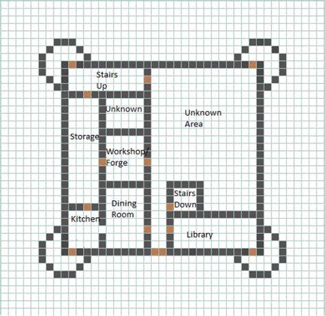 minecraft castle floor plans castle blueprint