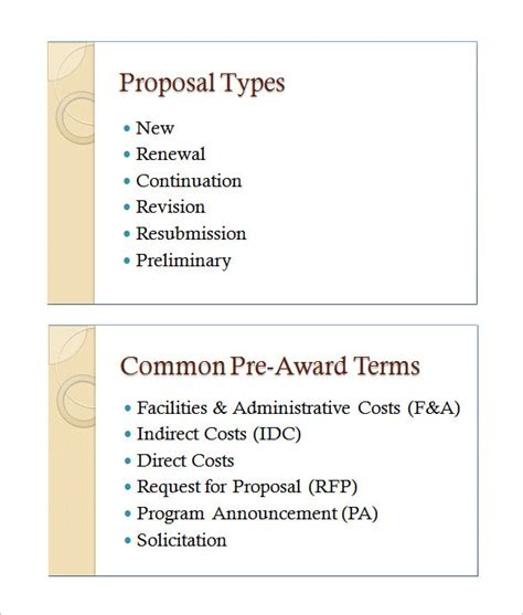 proposal format in ppt training proposal template 18 free word excel pdf