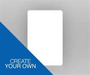 single sided portrait id card create your own idcardsandlanyards co uk