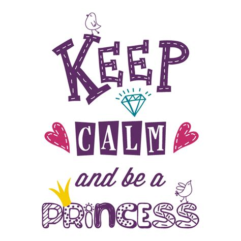 Decorative Stickers For Walls decorative vinyl keep calm and be a princess