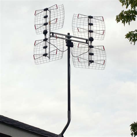hdtv antenna map db8 roof the air digital tv