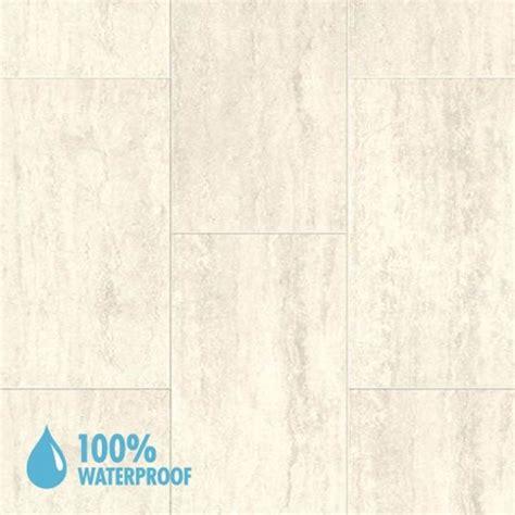 aqua step travertine white mini tile v4 waterproof laminate flooring 34 99m2