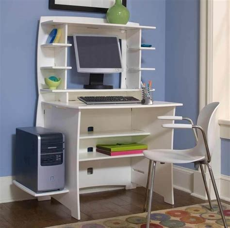 Small Desk For Computer Computer Furniture For Small Spaces And Desk Bedroom Interalle