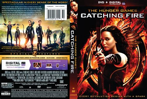 dvd slipcover the hunger games catching fire dvd cover 2013 r1