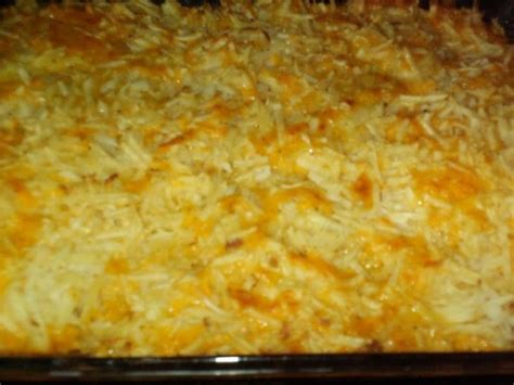 cheesy hash brown casserole recipe recipes pinterest