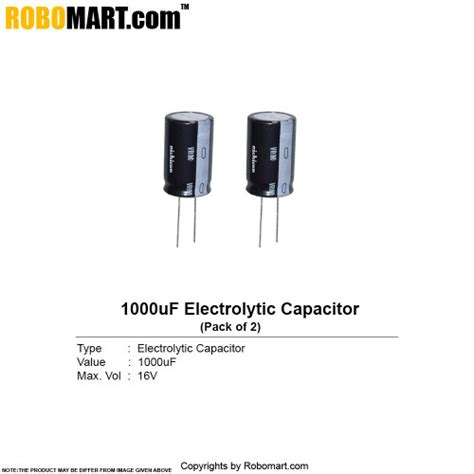 cost of 1000uf capacitor in india 1000uf 16v electrolytic capacitor buy in india
