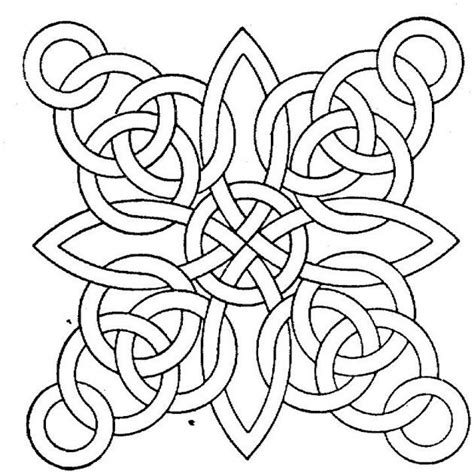 Coloring Page For Adults by Free Printable Geometric Coloring Pages For Adults