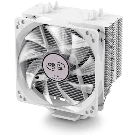 Deepcool Gammaxx 400 Universal Socket 12 Cm Fan 5 Gammaxx 400 White Deepcool Cpu Air Coolers