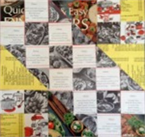san francisco chronicle pink section paper art quilt collage made from vintage magazines or old