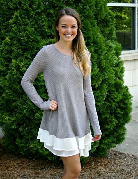 Jenys Tunic transitioning to fall fashions new in stores now