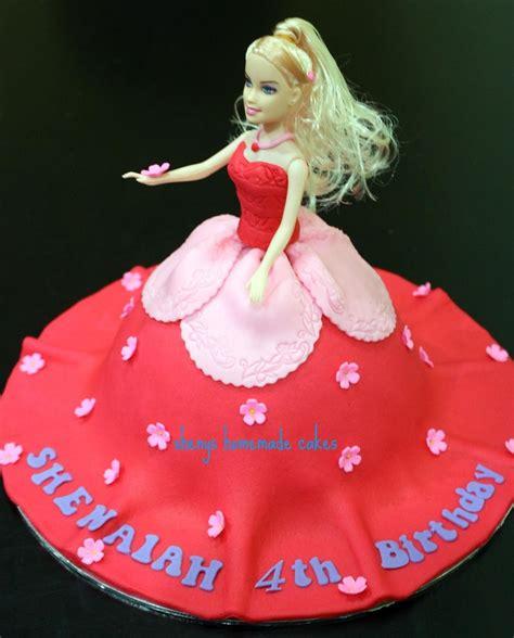 doll design birthday cake homemade barbie doll birthday cake idea cake ideas