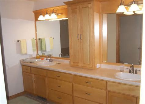 Bathroom Vanities Without Counter Tops Fast Free Countertop Bathroom Storage