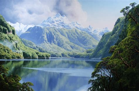 new landscape murray ayson new zealand landscape artist