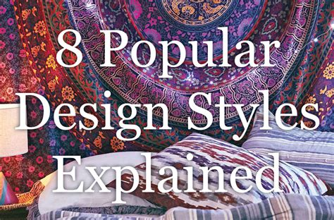 Different Design Styles | interior design styles 8 popular types explained froy blog