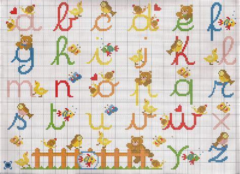 lettere dell alfabeto a punto croce alfabeto corsivo minuscolo magiedifilo it punto croce