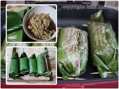 cara membuat nasi bakar ikan peda coba coba yuk nasi bakar peda