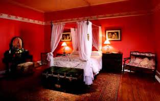 Red Bedroom Ideas by Beautiful Red Decoration In The Bedroom Performance