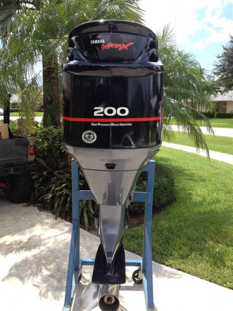 used yamaha vmax boat motor for sale buy 2005 yamaha 200hp 200 hp vmax hpdi outboard motor v