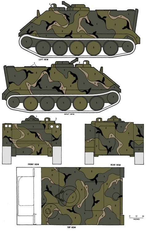 Color Schemes For Home Interior m113 apc merdc summer verdant camouflage color profile and