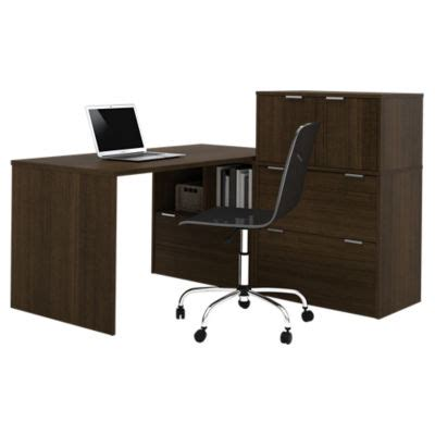 Small L Shaped Desk With Hutch I3 L Shaped Desk With Small Hutch By Bestar Smart Furniture