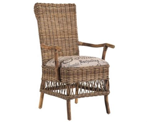 wicker dining room chairs with arms pr dac 2 provence wicker dining arm chair