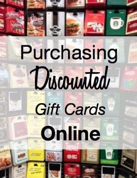 Purchase Gift Cards At Discount - tip purchase discounted gift cards online