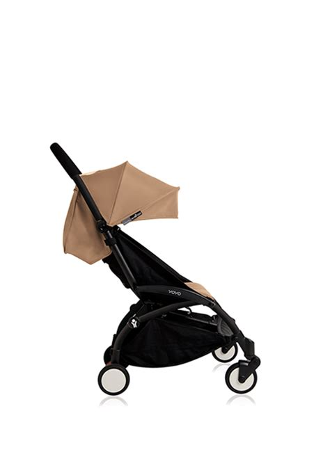 Babyzen Yoyo 6 Taupe Color strollers single strollers babyzen yoyo stroller w black frame taupe