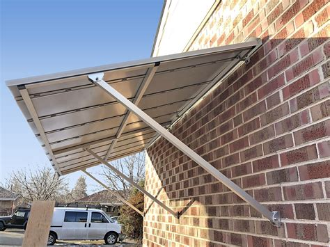 Sunbrella Window Awnings Austin Standing Seam Door Awning