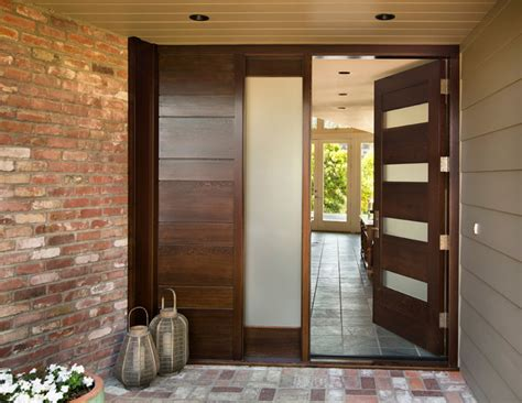 contemporary double front door bloombety contemporary entry doors plants flowers with