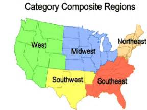 united states map with five regions optimus 5 search image the five regions of the united