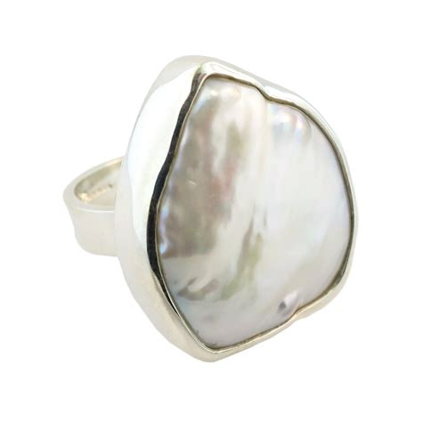 sterling silver cultured freshwater pearl ring cameron