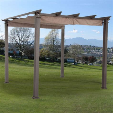 pergola canopy replacement replacement canopy for hton bay 9ft pergola riplock 350 garden winds canada