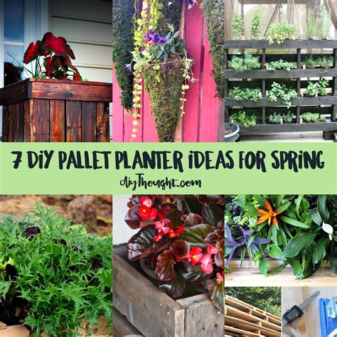 7 diy pallet planter ideas for spring diy thought