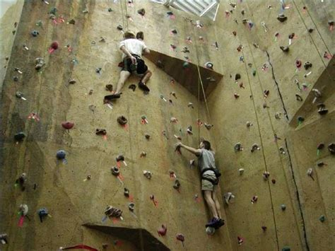 rock climbing wall car interior design