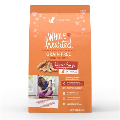 wholehearted food reviews cat food no grain the best cat 2017