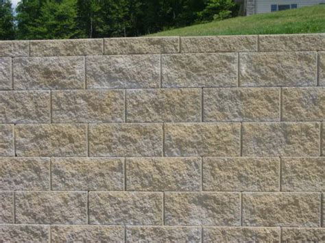 home depot retaining wall bricks 12 in x 7 in pewter