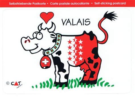 Sticker Drucken Bern by Wallis Be Kuh Postkarten Sticker