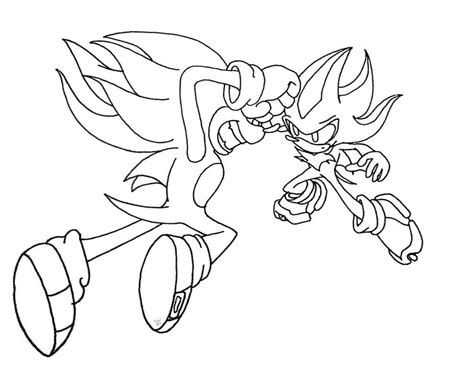 Super Sonic Coloring Pictures High Quality Coloring High Quality Coloring Pages