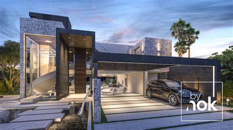 architecture and design modern villa in marbella spain