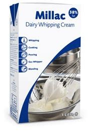 Whipping Milac Gold 1l millac dairy whipping pritchitts