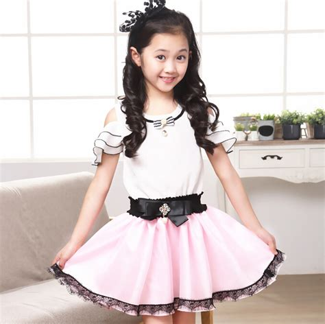 cute summer clothes for cheap 11 year olds new arrival summer kids strapless dresses sweet cute party
