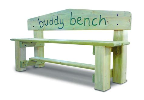 the buddy bench happy landings play bus
