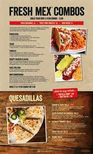 chevys fresh mex catering menu go search for