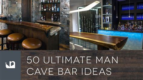 ultimate man cave bar ideas youtube