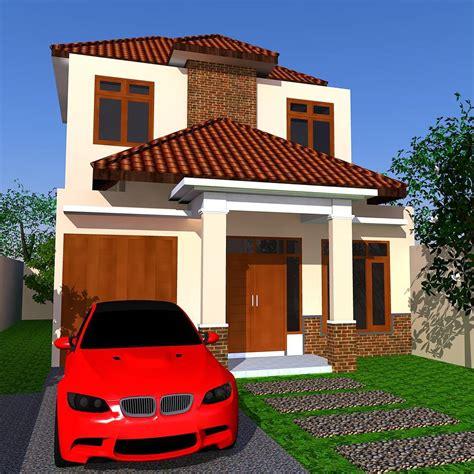 kombinasi warna cat rumah hijau putih kumpulan desain rumah