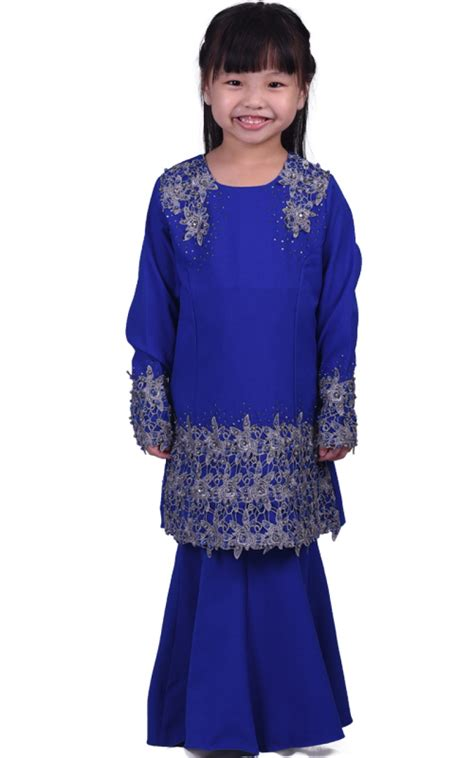 Sale Shaper Baju Shirt X43 mini kurung manis g blue baju kurung