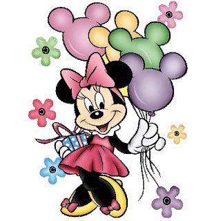 Minnie Mouse Birthday Wallpaper Png