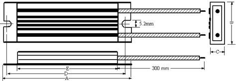 braking resistor ip65 braking resistor